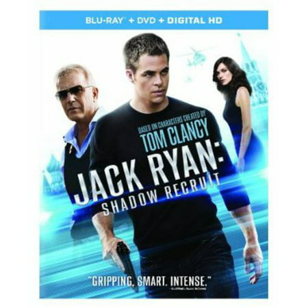Jack Ryan  Shadow Recruit  Blu Ray   Digital Copy