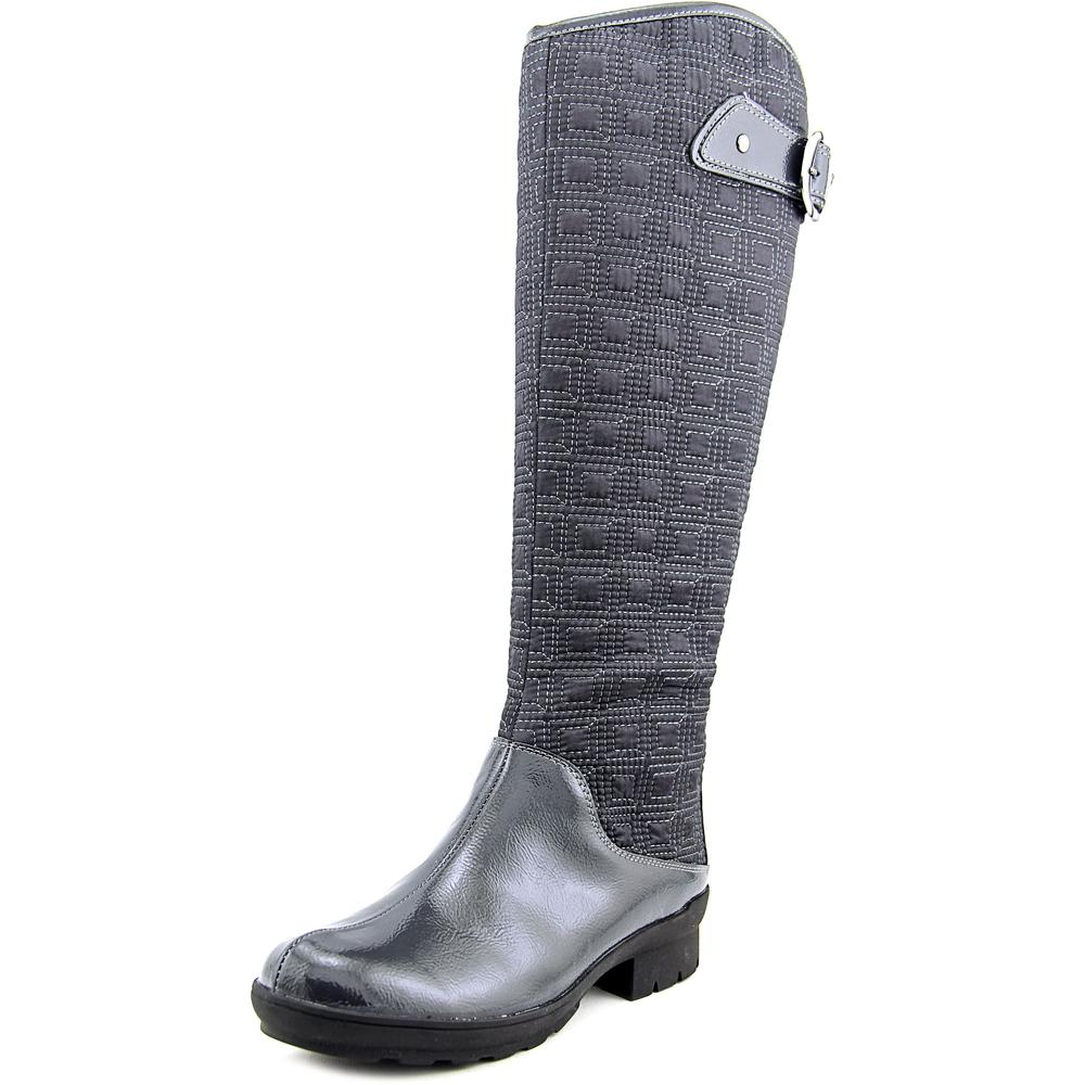 A2 By Aerosoles Cascade Women Round Toe Canvas Gray Winter Boot by A2 By Aerosoles