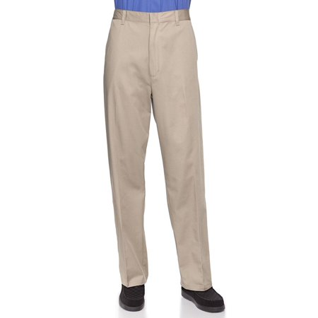 d57303e5 Half Elastic Flat Front Men's Slacks Big Sizes Available