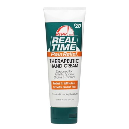 Real Time Pain Relief Therapeutic Hand Cream 4Oz Tube