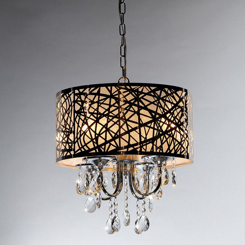 warehouse of tiffany abstract crystal rl5425 chandelier - Tiffany Chandelier