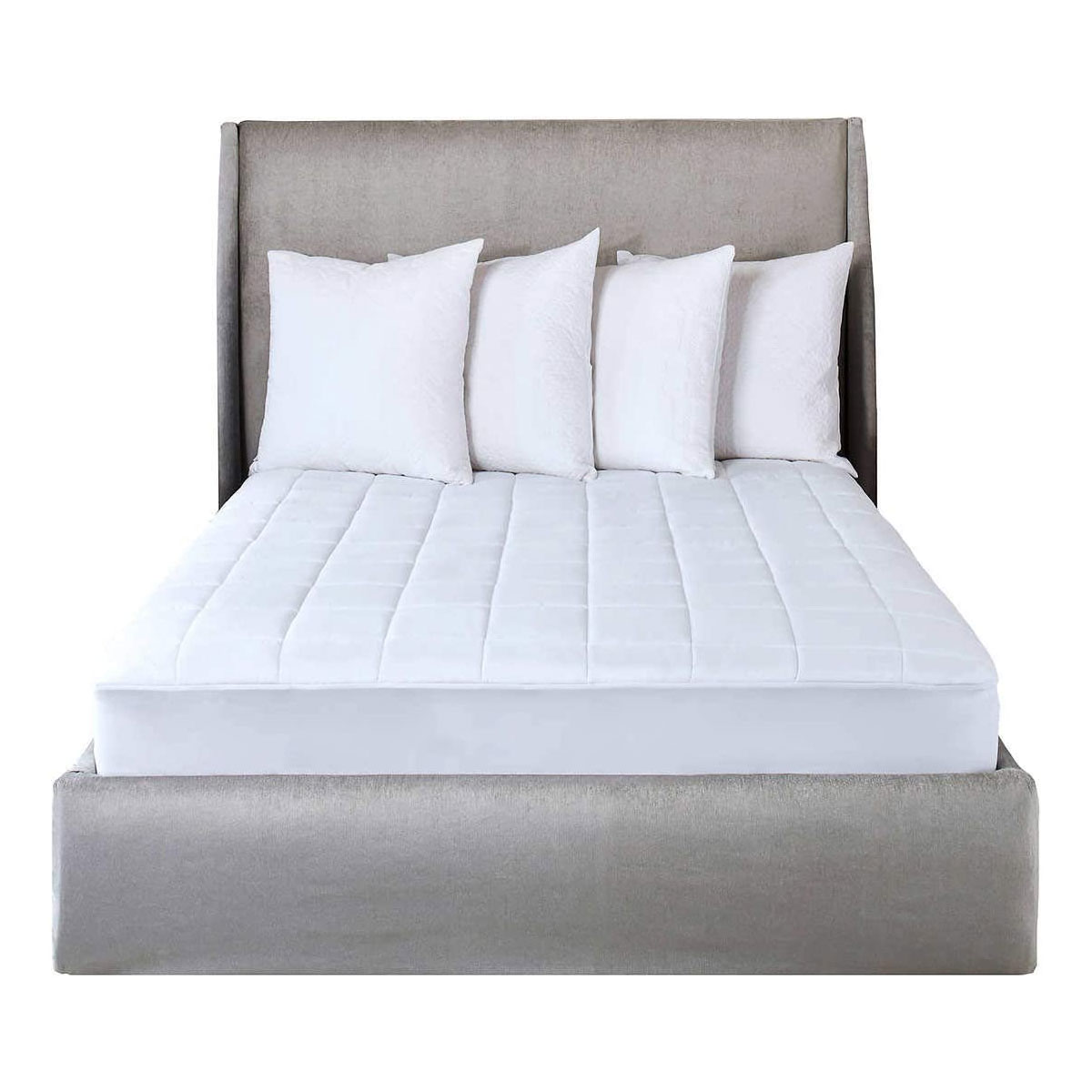 Queen 60X 80 10 Heat Settings Sunbeam Selecttouch Premium Electric Heated Mattress Pad 100 Percent Quilted Cotton Top