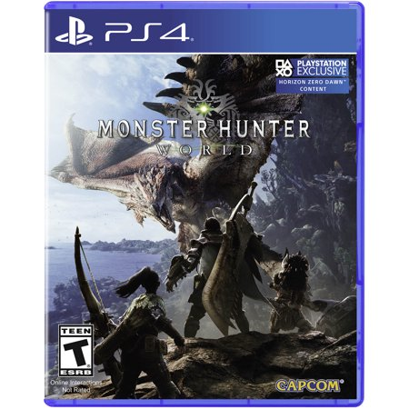 Capcom Monster Hunter World, Sony, PlayStation 4, (Hunter Gets Captured By The Game Chords)