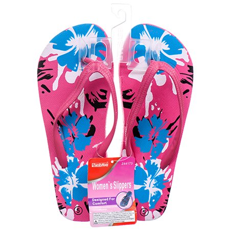 Bulk Flip Flops (New 365513  Hs Sandal Girl Flip Flop W / Flowers 5-10 (36-Pack) Swim Cheap Wholesale Discount Bulk Seasonal Swim)