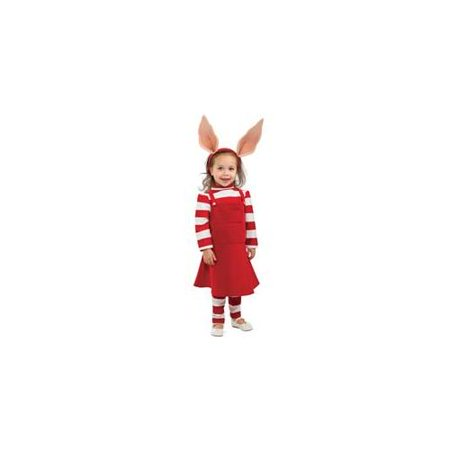 Olivia the Pig Delue Costume Child Toddler (Kids Pig Costumes)