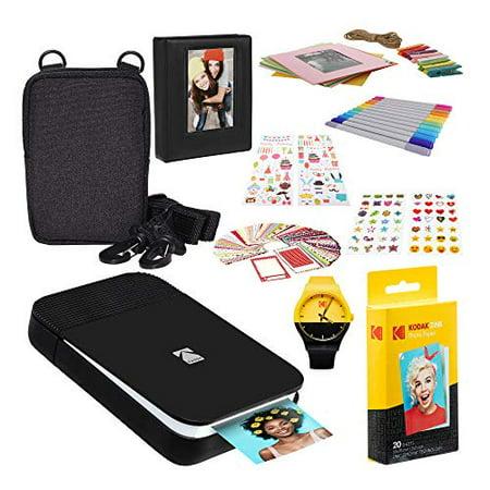 KODAK Smile Instant Digital Printer (Black/White) Photography Scrapbook Kit Watch