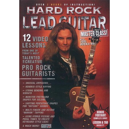 Guitar World: Guitar World -- Hard Rock Lead Guitar Master Class!: 12 Video Lessons from One of Today's Most Talented and Creative Pro Rock Guitarists, DVD (Audiobook) Rock Guitar Big Book