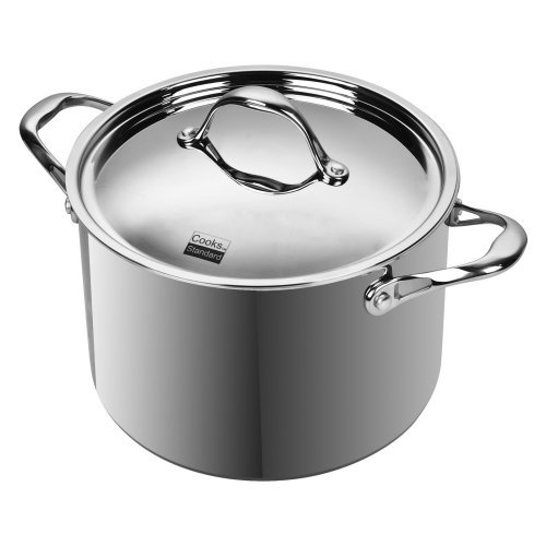 Cooks Standard Stockpot  Multi-Ply Clad, 8-qt, Stainless Steel