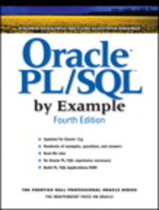 Oracle Pl Sql By Example 4th Edition Pdf