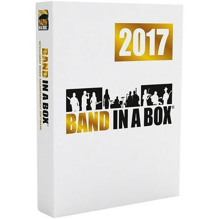 PG Music Band-in-a-Box Pro 2017 (Windows DVD-ROM) Emedia Pg Music Band