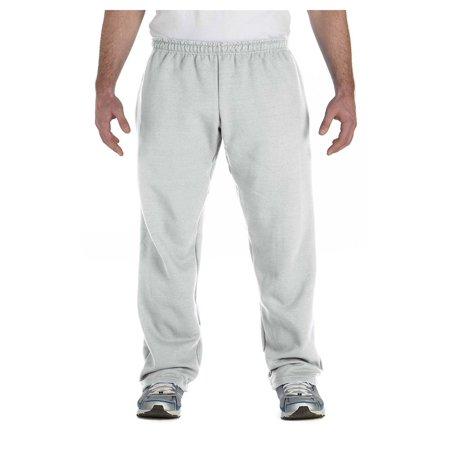 - Gildan Men's Missy Fit Open Bottom Fleece Sweatpant, Style G18400