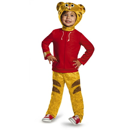 Daniel Tiger's Neighborhood Daniel Tiger Classic Toddler Costume](Daniel The Tiger Costume)