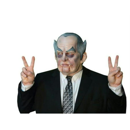 Costumes For All Occasions Ta526 Count Nixon Mask Latex for $<!---->