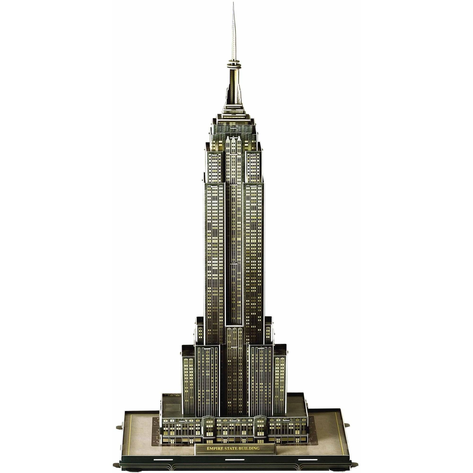 Empire State Building 3D Puzzle, 40 Pieces by 3D Innovation