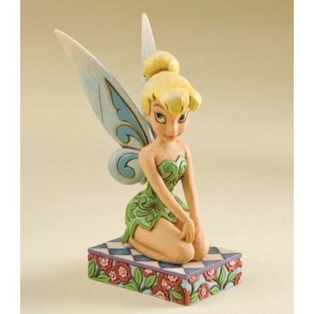 Tinkerbell Figurine (Jim Shore Disney Peter Pan A Pixie Delight Tinker Bell Figurine  4011754 New )