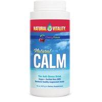 Natural Vitality Calm, The Anti-Stress Dietary Supplement Powder, Cherry - 16 oz