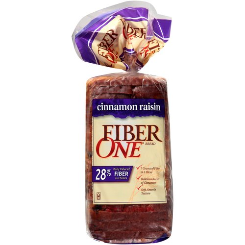 Fiber One Cinnamon Raisin Bread, 19 oz