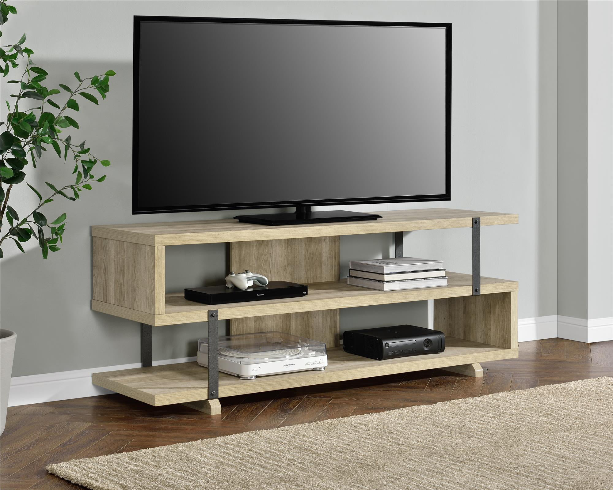 tv stands entertainment centers walmartcom - Entertainment Centers With Bookshelves