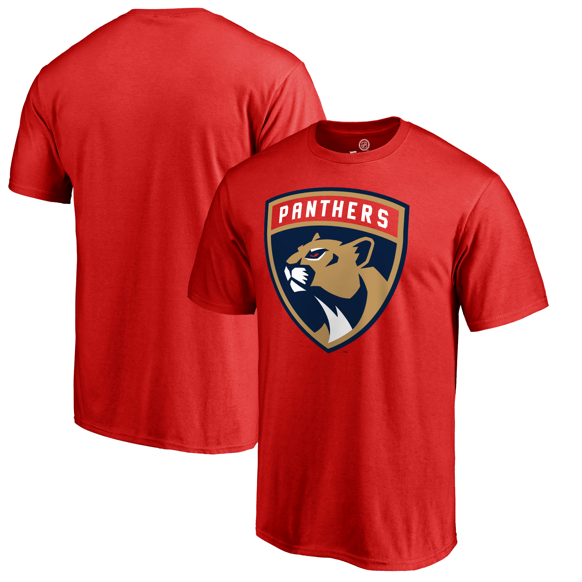 Florida Panthers Primary Logo T-Shirt - Red