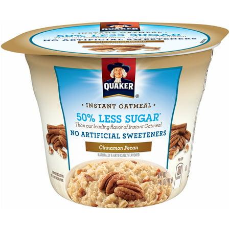 Oatmeal Medley ((6 Pack) Quaker Cinnamon Pecan Instant Oatmeal 1.41)