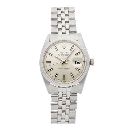 Pre-Owned Rolex Datejust 1601 Watch (2-Year WatchBox warranty) (Rolex 2018)