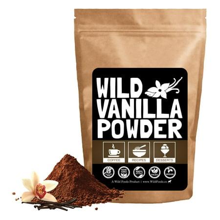Wild Vanilla Powder, Ground Vanilla Powder From Madagascar
