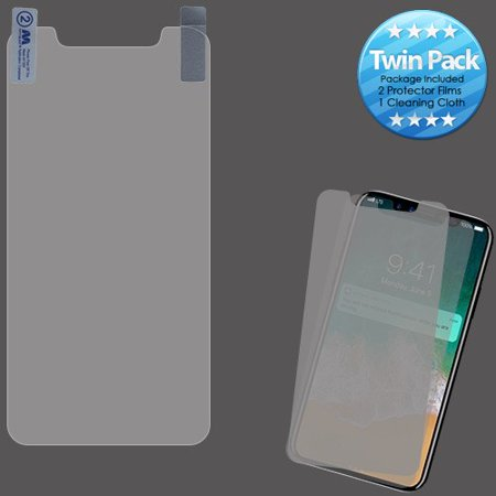 Twin Phone - For iPhone XS Max Phone Screen Protector Film Guard Cover, Twin Pack