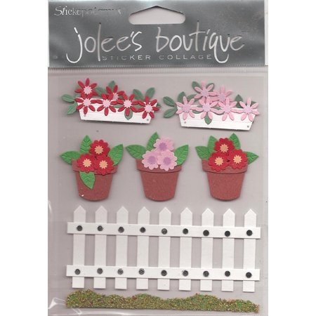 Jolee Boutique Dimensional Stickers Welcome to My garden ()