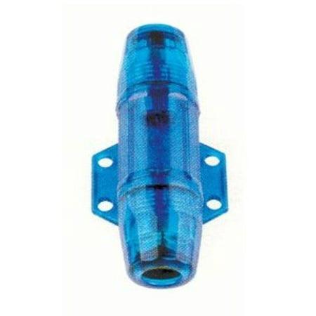 Agu In Line Fuse Holder - Absolute AGH4B Inline AGU Fuse Holder (Blue Transparent)