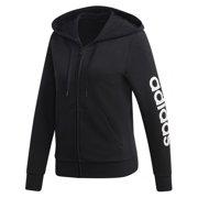 Adidas Linear Logo Fleece Hoodie Womens Style : Dp2401