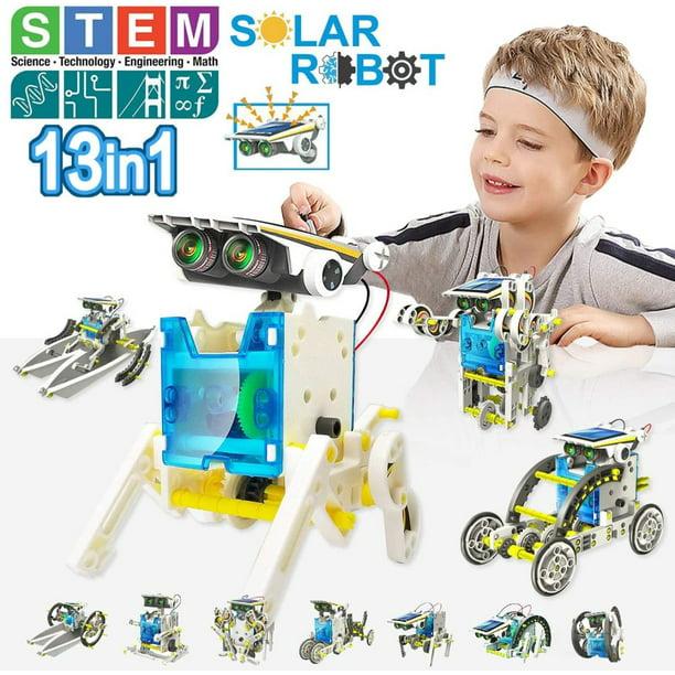 13-In-1 Education Solar Robot Kit Toys -Diy Building ...