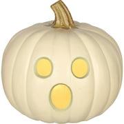 """Molded Light Up Jack O Lantern, 9"""" Halloween Decoration"""