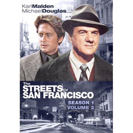 The Streets of San Francisco: Season 1, Volume 2 (DVD) (Montgomery Burns)