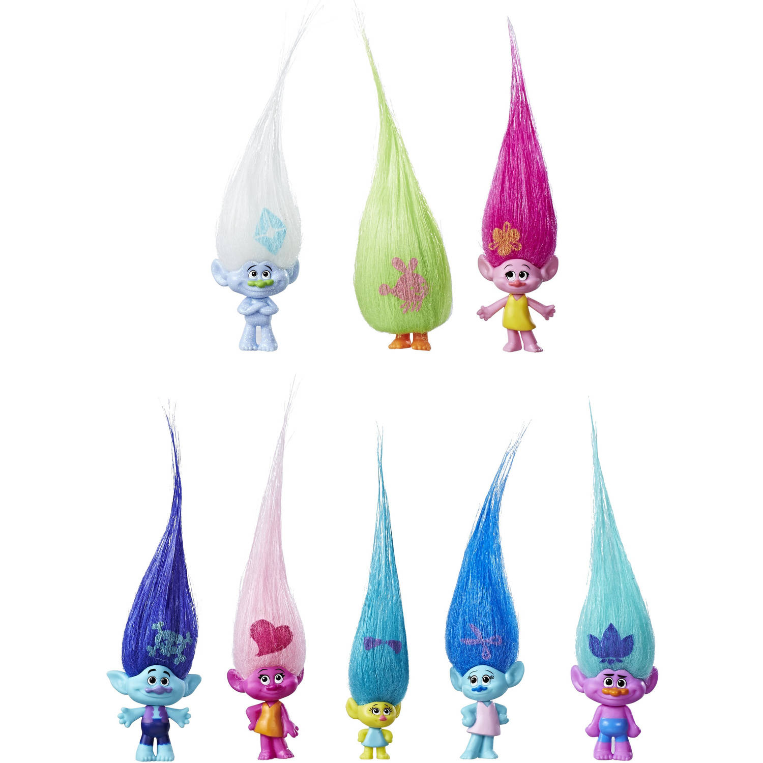 DreamWorks Trolls Wild Hair Collection Pack