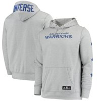 Golden State Warriors Converse Essential Pullover Hoodie - Heathered Gray