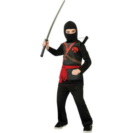 Halloween Kids Black Ninja Child Costume - La Bamba Costume