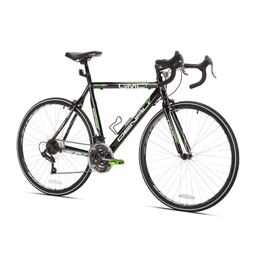 GMC Denali Black Green 700c Road Bicycle with 25'' Frame