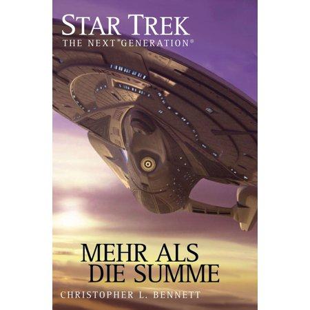 Star Trek - The Next Generation 05: Mehr als die Summe - eBook (Mehr Als Erfüllt Die Augen)