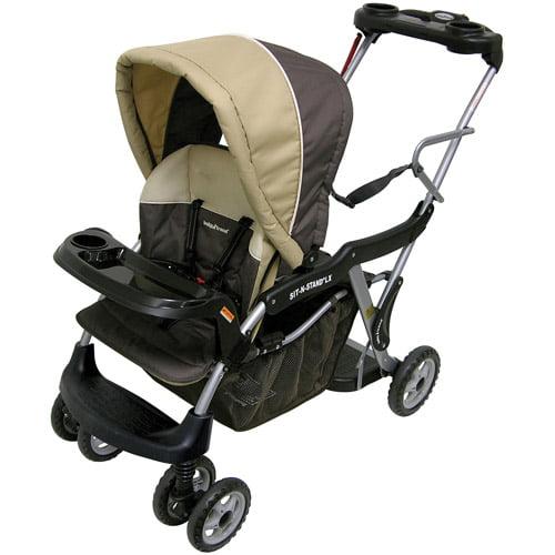 Baby Trend - Sit N Stand Stroller LX, Vanilla Bean