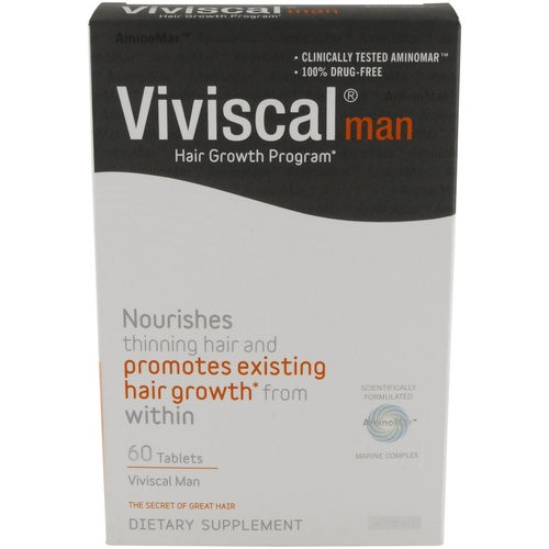 Viviscal Man Hair Growth Program, Capsules 60 ea