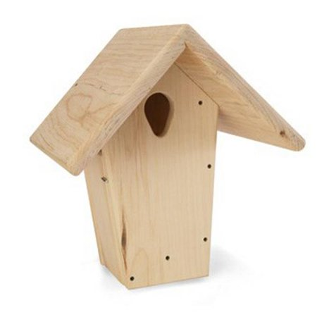 Droll Yankees NB-BBP Nurturing Generations 12in. Natural Nest Box