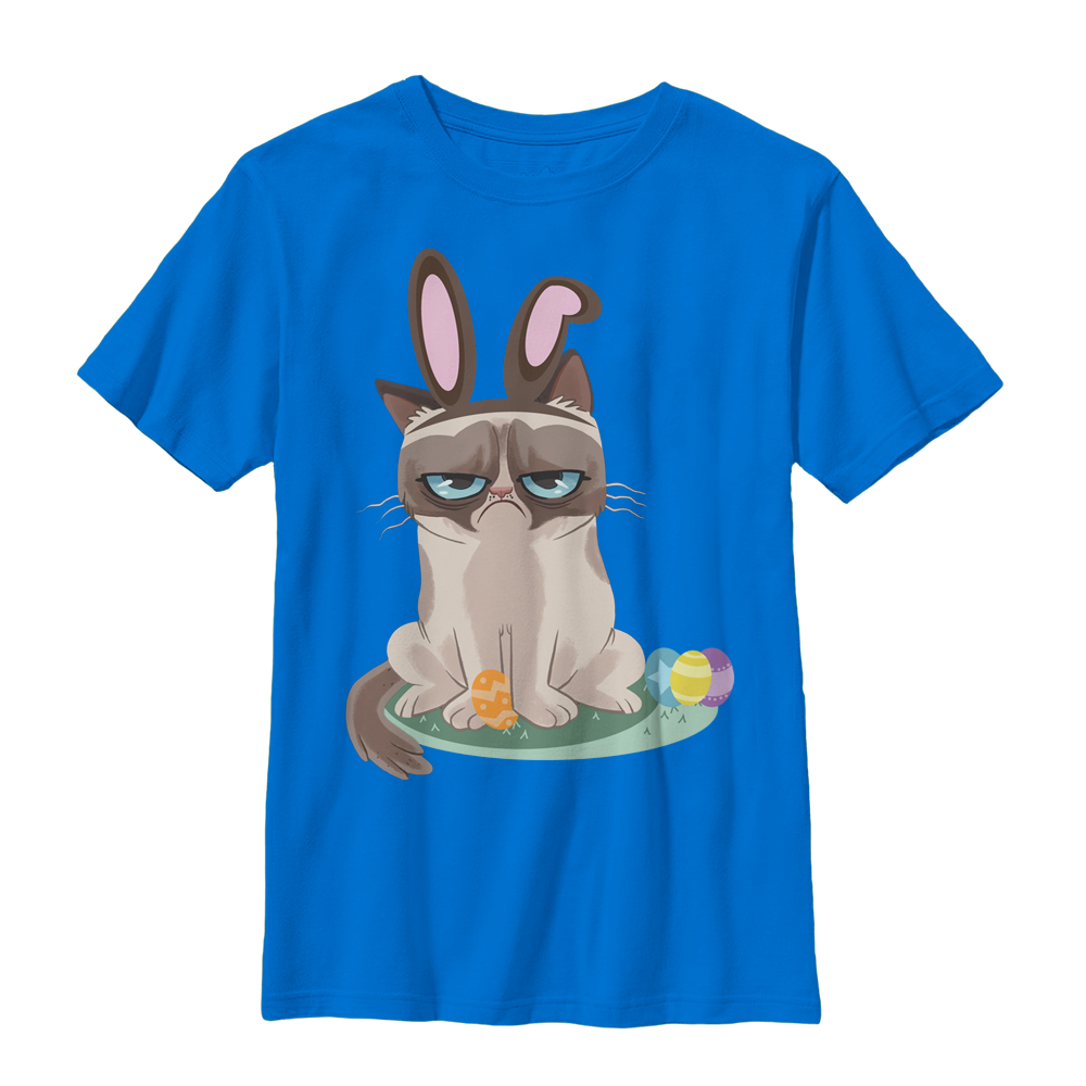 Grumpy Cat Boys' Easter Bunny T-Shirt