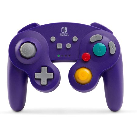 PowerA Wireless Controller for Nintendo Switch - GameCube Style: Purple