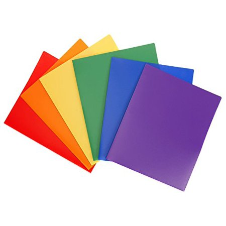 Stemsfx heavy duty plastic 2 pocket folder assorted colors pack of stemsfx heavy duty plastic 2 pocket folder assorted colors pack of 6 for letter colourmoves