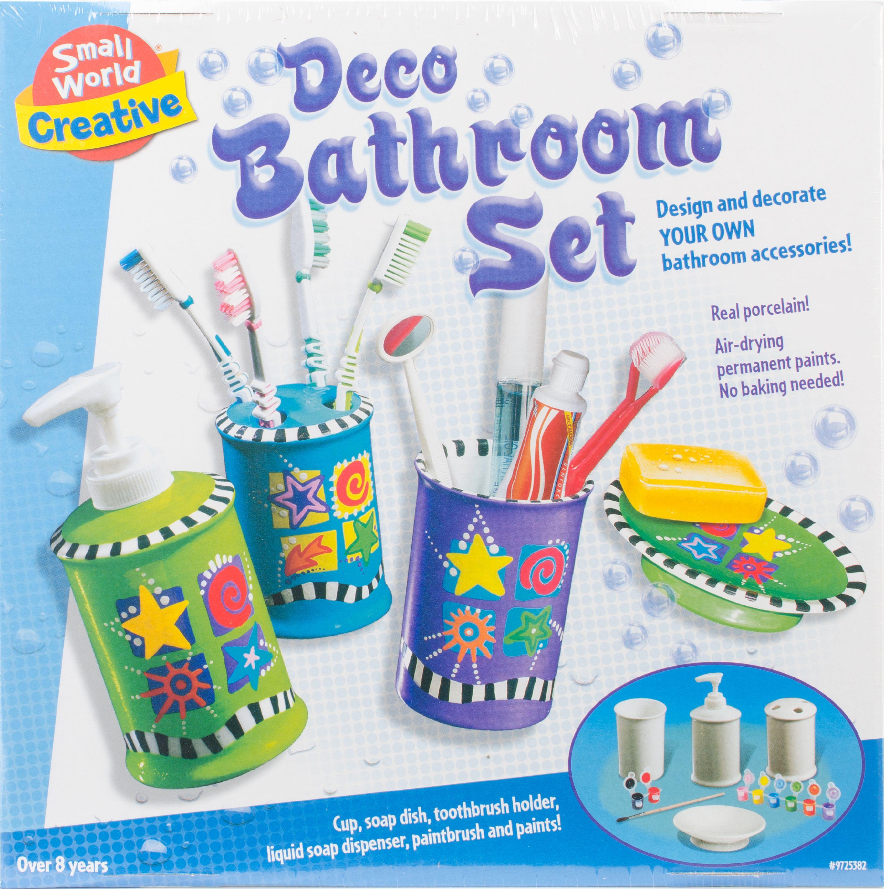 Deco Bathroom Set