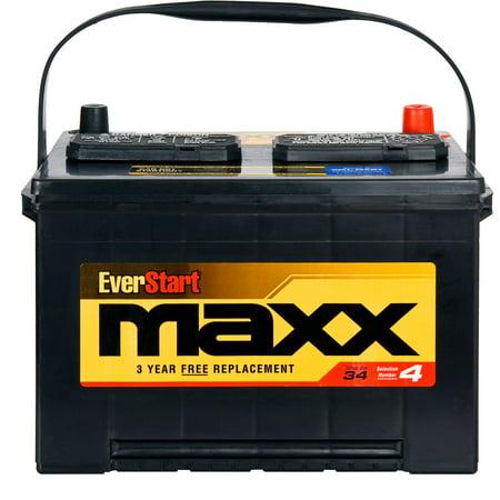 Everstart Maxx Lead Acid Automotive Battery Group 34n