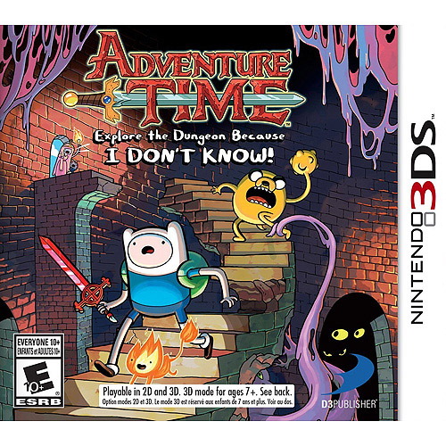 Adventure Time: Explore the Dungeon Because I Don't Know (Nintendo 3DS)