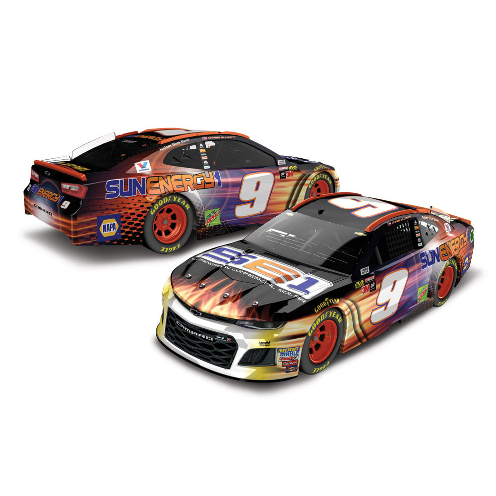 Lionel Racing Chase Elliott #9 SUNENERGY1 2018 Chevy Camaro 1:24 Scale HO Die-cast