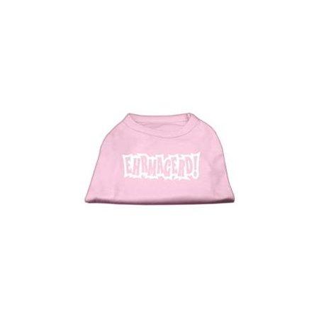 Ehrmagerd Screen Print Shirt Light Pink Lg 14