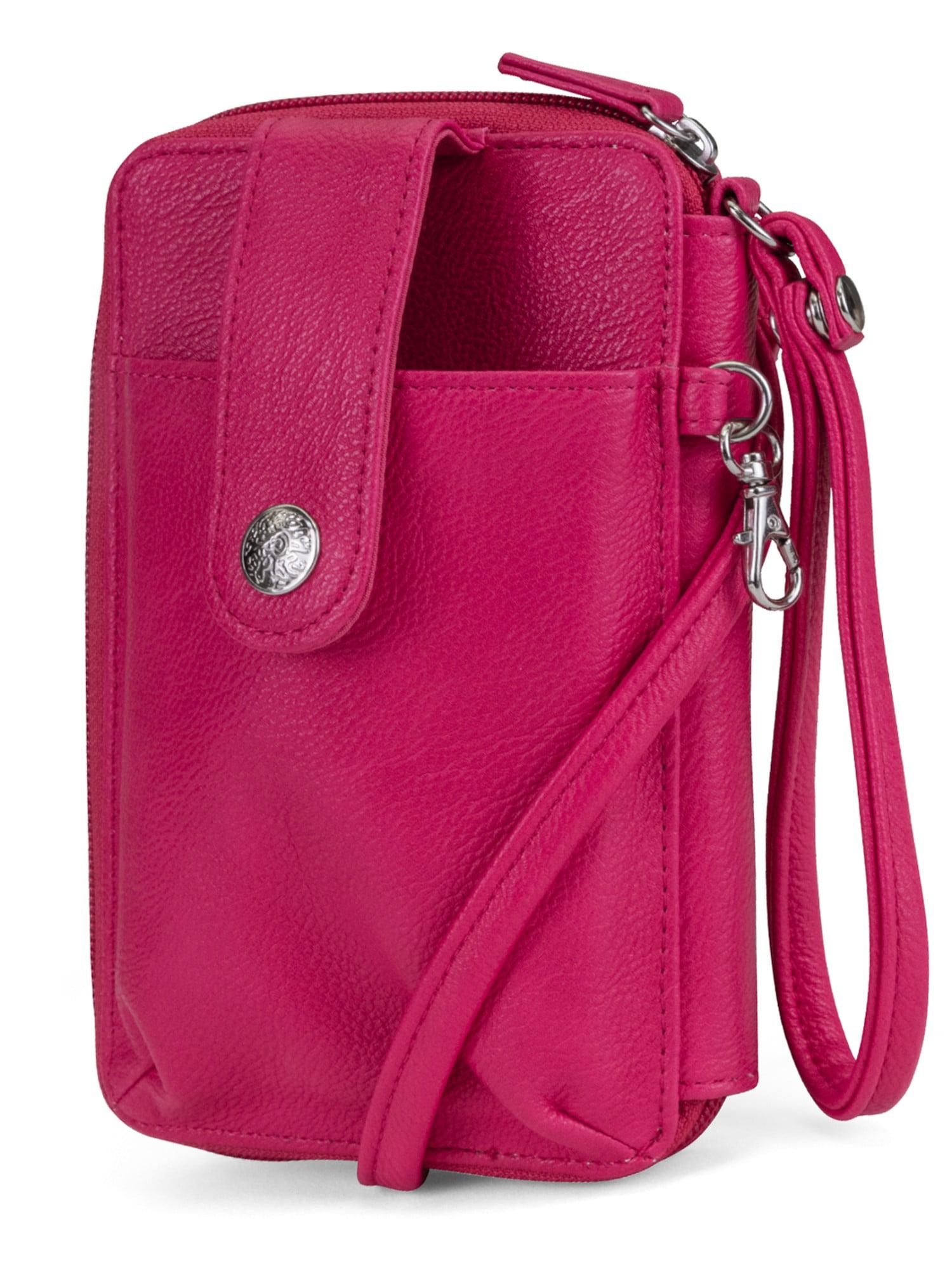 Crossbody Mobile Phone Shoulder Bag Handbag Case Belt Purse Wallet Black Ship US